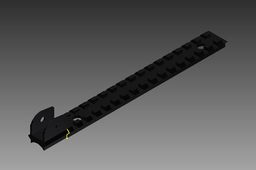 Picatinny Rail for AK47 with m4 sight addition