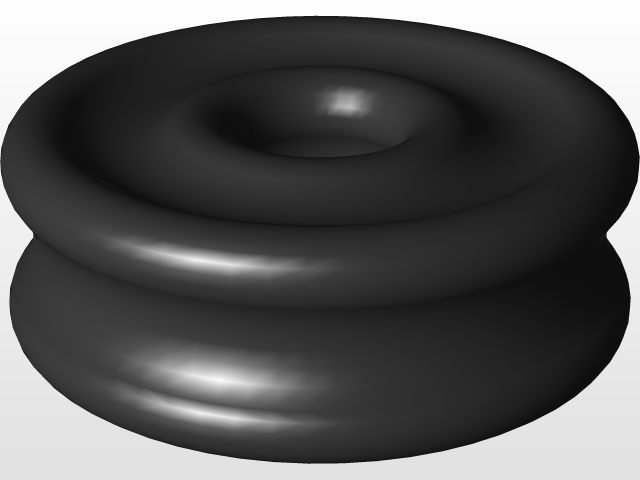 Eriks X Ring.X Ring Quad Rings Ipart 3d Cad Model Library Grabcad