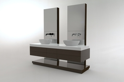 Free standing wash basin furniture