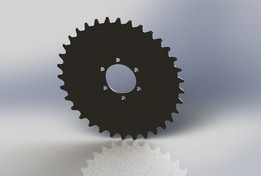 Brake mount sprocket