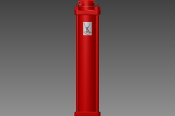 "Hydraulic Cylinder 3""x12"" (All files zipped)"