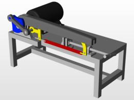 AC motor Saw Machine (Desk)