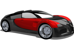 STEP version of the Bugatti Veyron