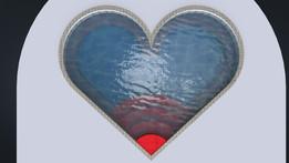 Kiddie Heart Shape Pool