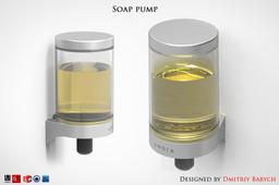 Soap pump - 2th
