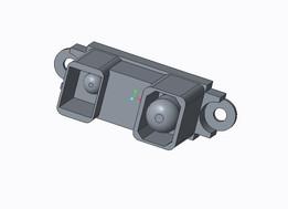 Long Range Infrared Proximity Sensor Model