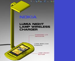 Lumia Night Lamp Wireless Charger