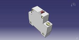 monopolar circuit breaker mod. sd c6 2p / disjuntor bipolar mod. sd c6 2p