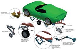 Light weight-Without Ramp -Mechanical trailer- CATFISH