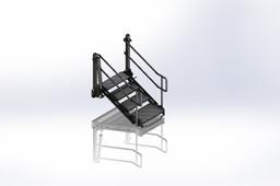 Ladder truck load fluids