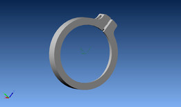 Light Ring Holder for Mill