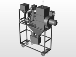 Compact cryogenic mill