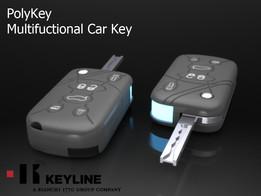 Multifunctional car key