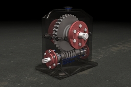 Speed reducer with Worm gears