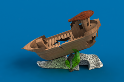 Shipwreck for Fish Tank