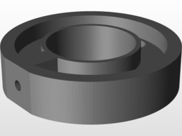 3D printable Barrel Nut (Paintball)