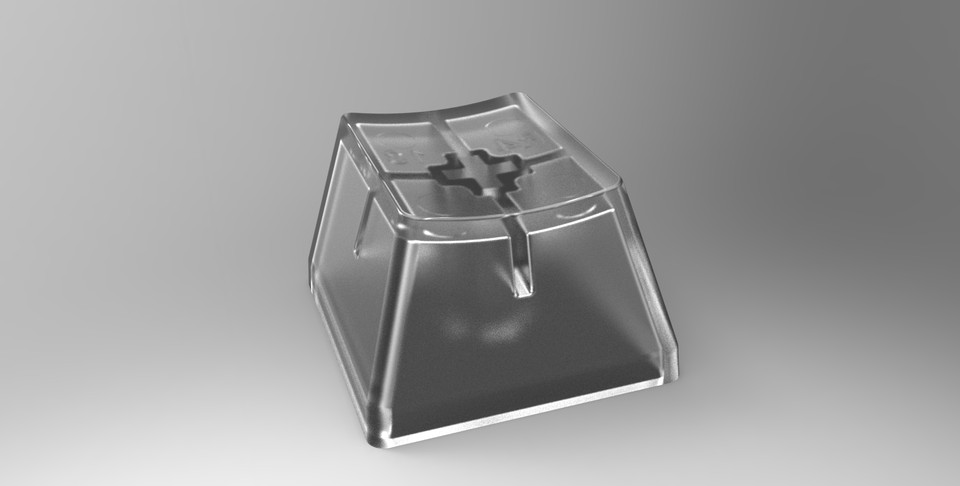 Cherry MX keycap 樱桃MX键帽   3D CAD Model Library   GrabCAD