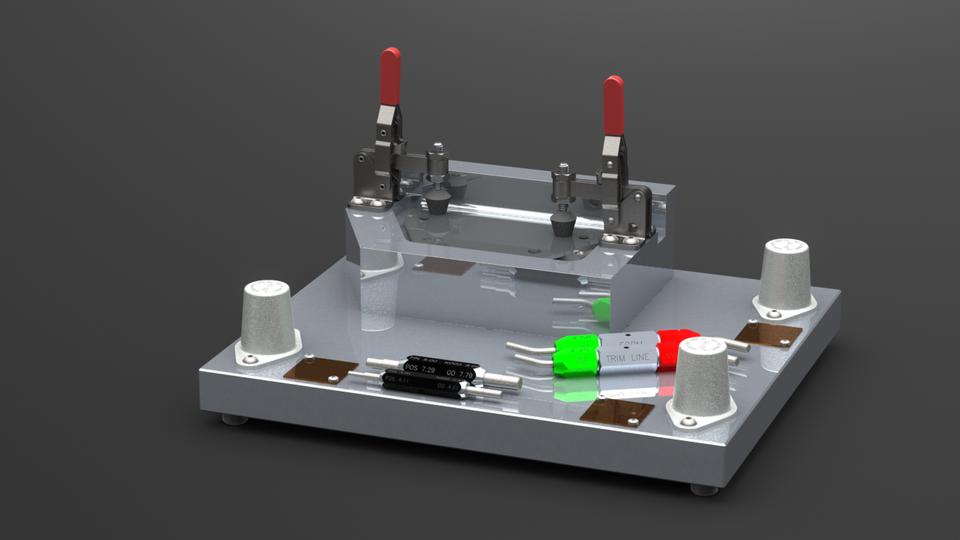 Checking Fixture Concept 3d Cad Model Library Grabcad