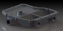 Honda CBR600F4i Dry Sump Pan and Inlet