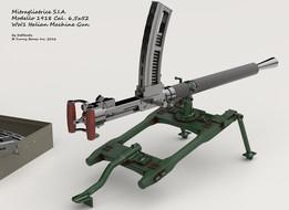 Mitragliatrice S.I.A. Modello 1918 Cal. 6,5x52mm