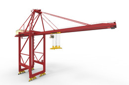 65T Double Trolley Container Crane (DTCC)