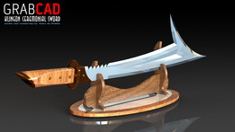 Klingon Ceremonial Sword.