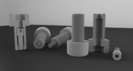 3D Print Double Bolt