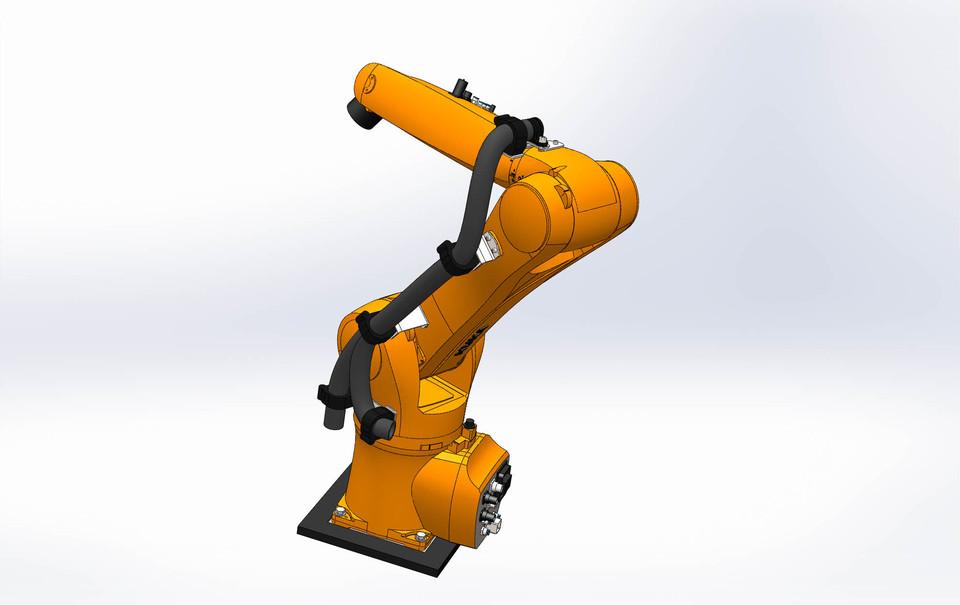 Kuka KR AGILUS | 3D CAD Model Library | GrabCAD