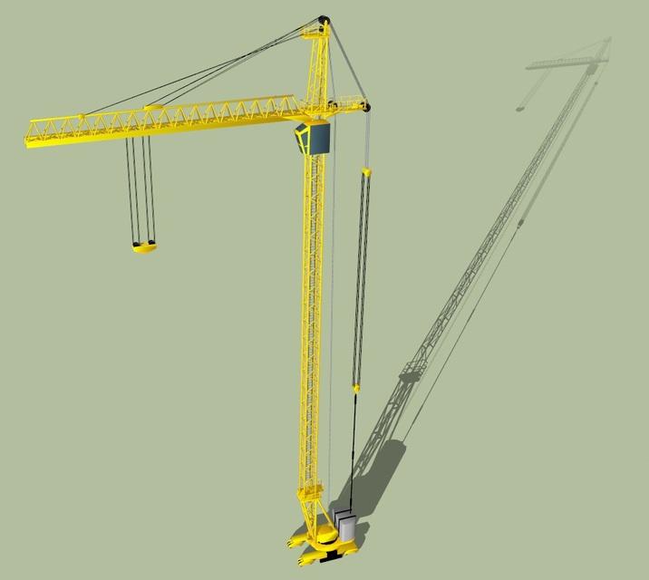 tower crane | 3D CAD Model Library | GrabCAD