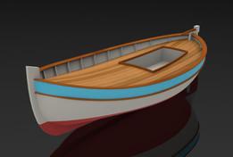 Pointu - Mediterranean Fishing Boat