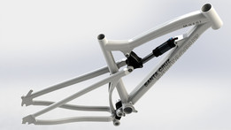 MTB frame, mountain bike