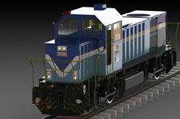 locomotive - Most downloaded models | 3D CAD Model
