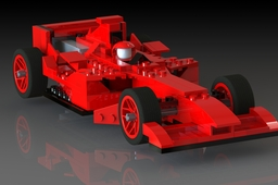 8142 Ferarri F1 Racing car