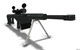 Barrett NERF Gun