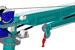 Liebherr KL7500AHC subsea crane