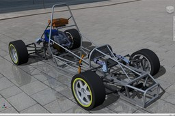 Race Car Tubular Chassis