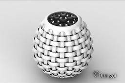 Weave Vase - Math Art by @dizingof