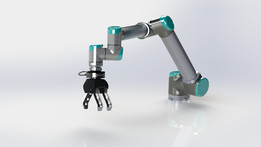 UR10 Robot /w robotiq 3-finger gripper