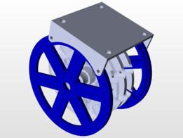 Multistage Auxial Flux permanent magnet (PMA) Generator 600 RPM 220 Volt AC