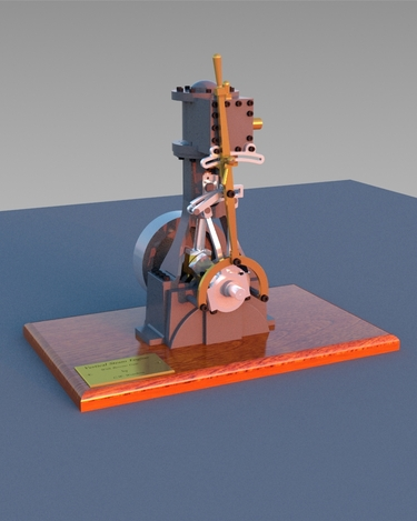 Vertical Steam Engine