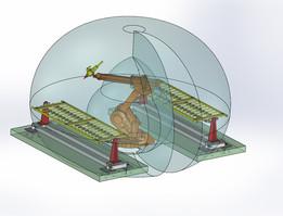 LASER WELDING ROBOT CELL - ABB IRB1400