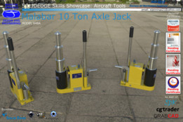 Solid Edge Skills Showcase: Malabar 10 Ton Axle Jack