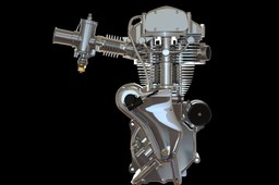 Velocette Venom Thruxton 500cc motorcycle engine
