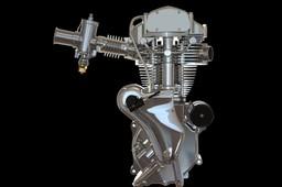 Velocette Venom Thruxton 500cc motorcycle engine