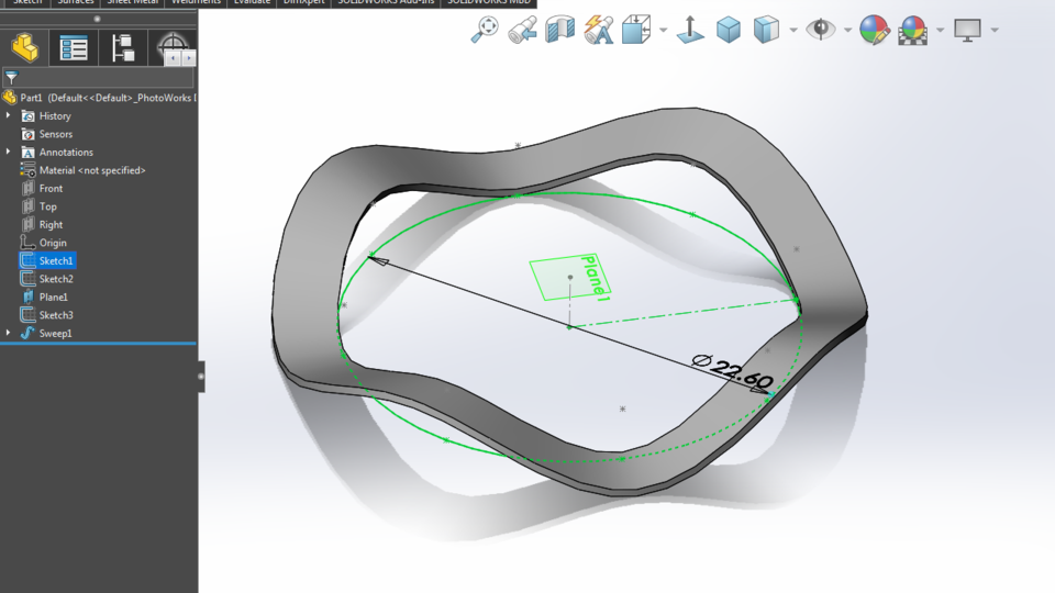 Wave Washer In Solidworks 3d Cad Model Library Grabcad