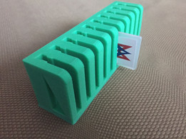 AndyMark Battery Flag Storage