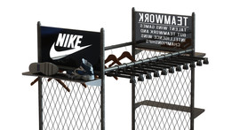 Chain Link Nike Display
