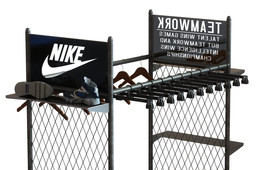 Chain Link Nike Display