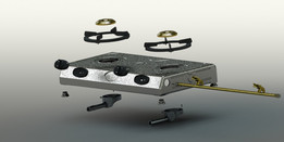 LPG gas stove and its parts