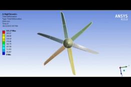 Rigid Dynamics C-130J Super Hercules propeller